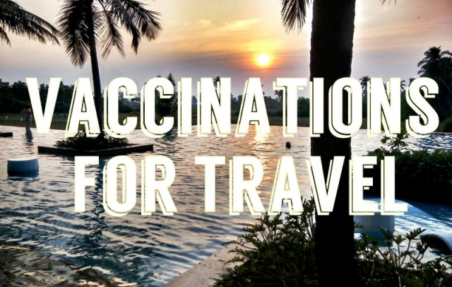 vaccinations for foreign tourists traveling to India